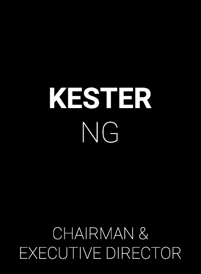 BCI Chairman & Executive Director - Kester Ng