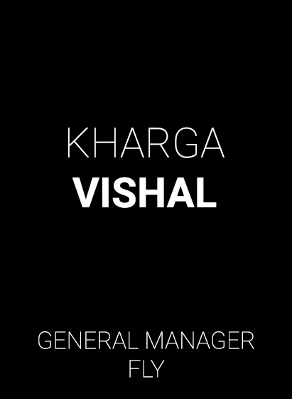 FLy General Manager - Vishal Kharga
